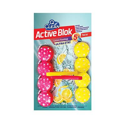 Active WC Block Lemon Relief 96 GR
