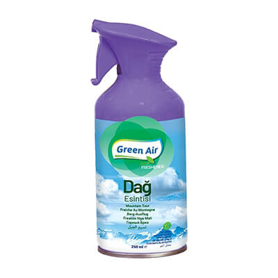 Raumspray Mountain Breeze 250 ml Abzug