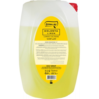 Limon Kolonyası 4000 Ml