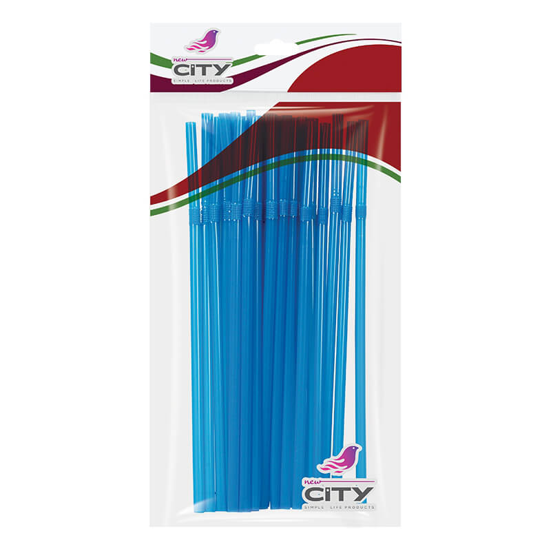 Flexible Straw 50 Pcs