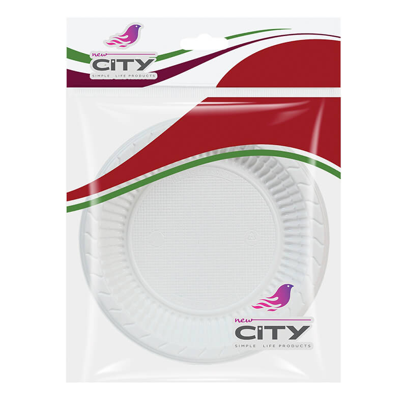 Plastic Plates Small 10 Pcs